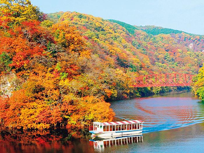 秋の安芸 毛利,高杉,紅葉谷3